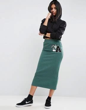 mess mess high waist pencil skirt with pocket pencil skirts shop for pencil skirts asos