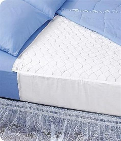 incontinence pads for bed wearever waterproof washable incontinence bed pad with wings ebay