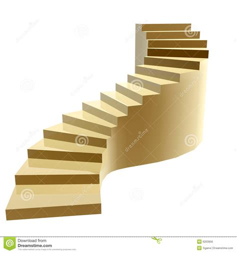Steps For by Golden Steps To Success Royalty Free Stock Image Image