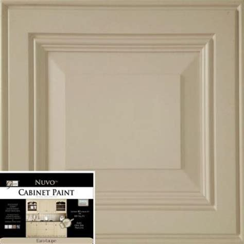 nuvo 2 qt taupe cabinet paint kit fg nu taupe r the home depot