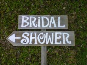 bridal shower wedding signs handpainted 1 by