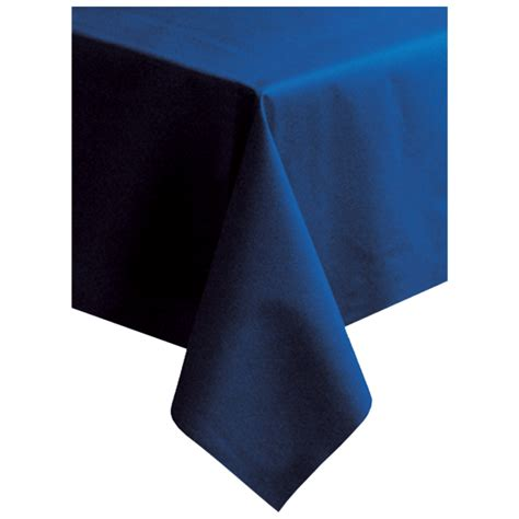linen like table covers hoffmaster 220834 50 quot x 108 quot linen like navy blue table