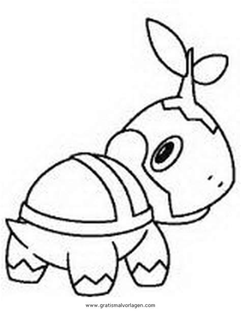 pokemon coloring pages turtwig turtwig coloring pages az coloring pages