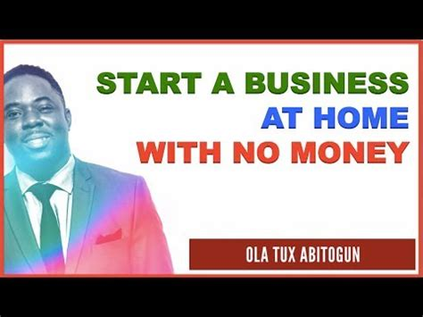 how to start a business at home with no money bizopplab