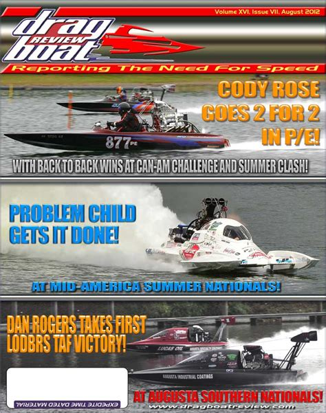 green country drag boat racing drag boat review back issues august 2012
