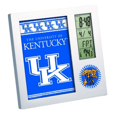 of kentucky desk accessories ncaa kentucky wildcats digital desk clock picture frame