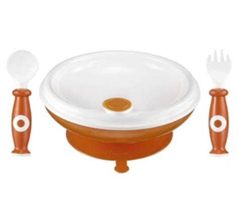 Diskon Mangkok Dengan Sendok Tommee Tippee Feeding Bowl With Spoon jual piring mangkok sendok makan bayi aman rekomen