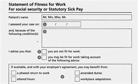 Fit For Purpose Hazards Issue 110 April June 2010 Statement Of Fitness For Work Template