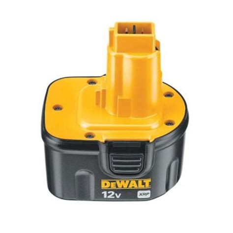 dewalt 12 volt xrp nicd rechargeable battery pack dc9071