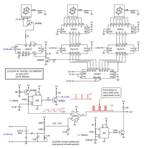 schematic diagram of voltmeter ac voltmeter wiring diagram wiring diagram with description