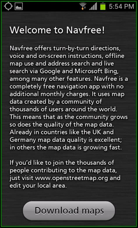 best offline map for best offline navigation maps apps for android devices
