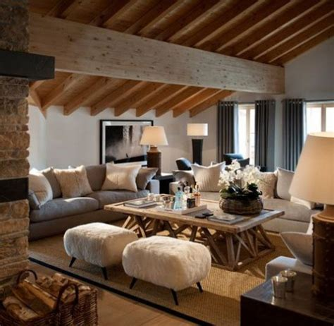 modern cabin decor 50 cozy and inviting chalet living rooms comfydwelling com