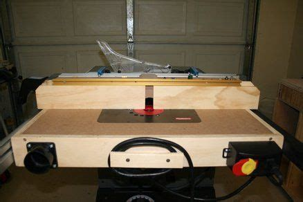 combination router table and table saw workshop router