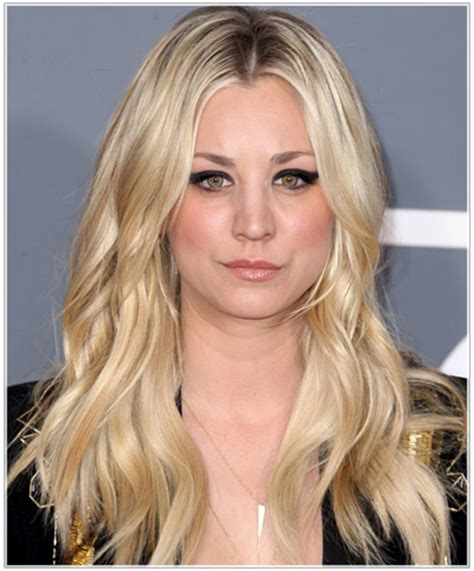 what technique is used on kaley hair kaley cuoco hairstyles celebrity spotlight