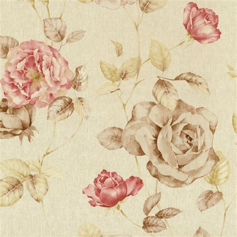 flower wallpaper ebay new luxury p s antique floral vintage look textured flower
