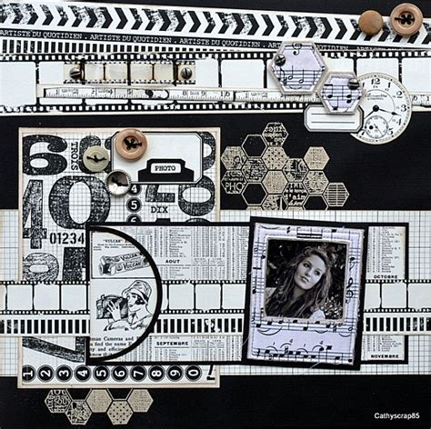 scrapbook layout black and white 17 best images about a1 scrapbook black and neutral tone