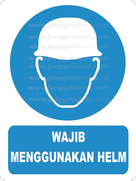 Safety Helmet Helem Kerja Helm Proyek Merah safety sign jual safety sign