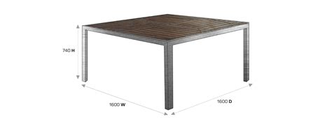 Patio Table Size Top 28 Outdoor Table Dimensions White Build An Outdoor Coffee Table Htons Oseasons