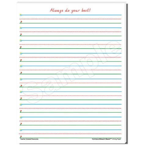 paper writing tablet writing tablet paper for 1st grade handwriting papermead