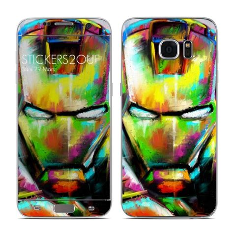 skin iron paint galaxy  edge samsung
