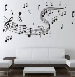 Wall Stickers Music note music wall sticker 0855 music decal wall arts wall paper sticker
