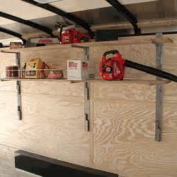 e track shelving rack em ra 24 sliding wall shelf kit for enclosed trailer
