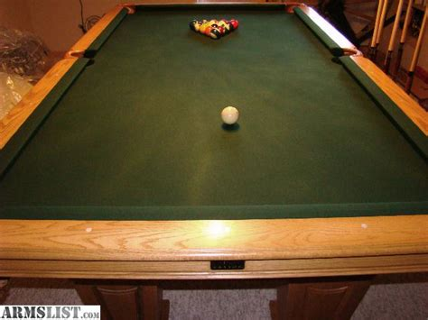 armslist like new 8 kasson pool table