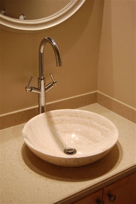 bath s002bt p beige travertine sink bowl