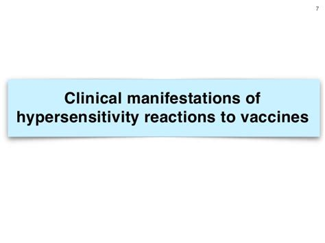 reaction to vaccine adverse reactions to vaccine for infectious diseases