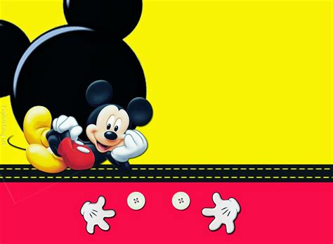 mickey mouse invitations template free picture mickey mouse