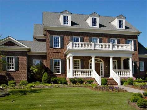 front porches on colonial homes brick colonial front porch home design ideas