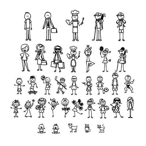 Stick Figure Stickers