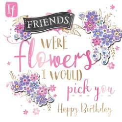 happy birthday friend handmade embellished greeting card cards kates