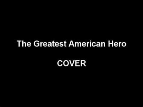 The Greatest American Believe It Or Not The Greatest American Believe It Or Not Piano Cover