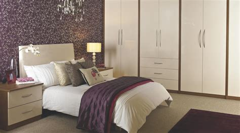 b q bedrooms designer vanilla gloss modular bedroom furniture