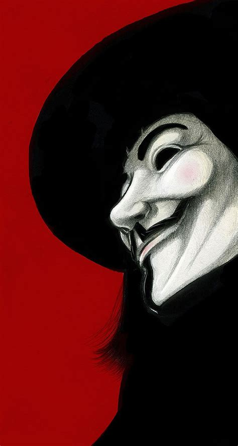 wallpaper iphone 5 anonymous v for vendetta red background the iphone wallpapers