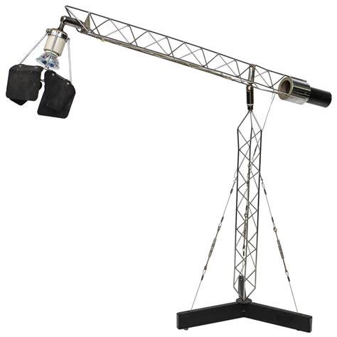 Crane Lighting Fixtures C Jere Vintage Articulating Crane Table L At 1stdibs