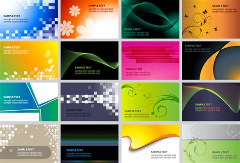 beautifully designed 16 beautifully designed card templates free vector 4vector