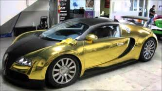 All Gold Bugatti Gold Bugatti Veyron Found In Sea Must See