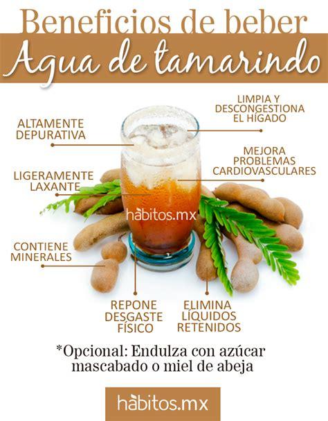 Sante Detox Agua by 161 Beneficios De Beber Agua De Tamarindo Colonies And