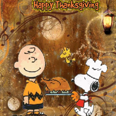 happy thanksgiving brown quotes animated brown snoopy thanksgiving quote pictures