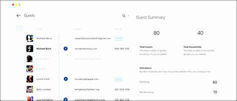8 Party Guest List Maker   SampleTemplatess   SampleTemplatess