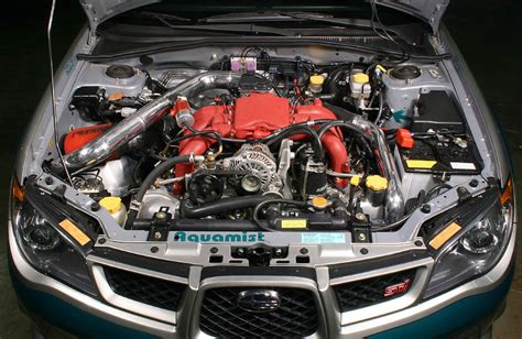 how do cars engines work 2006 subaru tribeca electronic valve timing turbocharged 3 0 tribeca engine h 6 vs stock sti engine 2 5 turbo i club