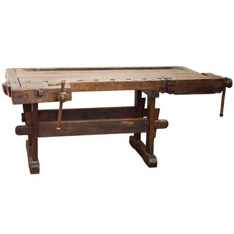 large work bench very large antique french work bench at 1stdibs
