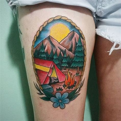 outdoor tattoos 17 best ideas about cing on simple