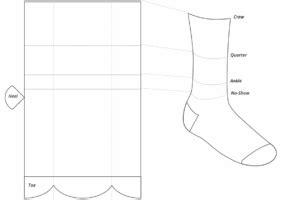 Design Templates Archives Fairware Promotional Products Sock Design Template
