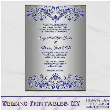 baby shower invitation lovely purple and silver baby