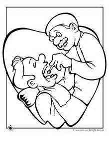dentist coloring pages dentist coloring pages prek k community helpers
