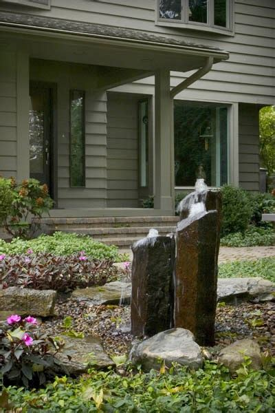 front yard water features boost your curb appeal
