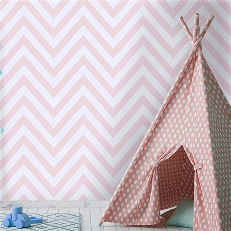 pink wallpaper for walls uk holden chevron striped pattern childrens wallpaper pastel